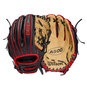 """Wilson A500 All Positions Youth Baseball Glove - 10.5"""""""