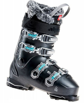 Alpina Eve 65 Women's All-Mountain Ski Boots - Black