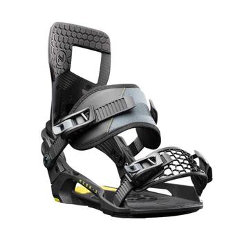 Nidecker Muon-X N.21 Snowboard Bindings - Black