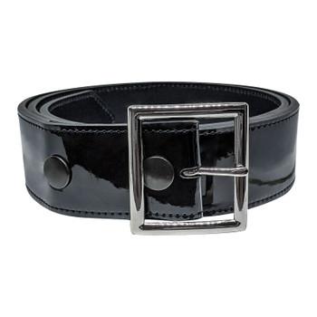 Champro Patent Leather Umpire Belt - Glossy Black
