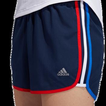 adidas Marathon 20 Nation Women's Running Shorts FM5779 - Collegiate Navy