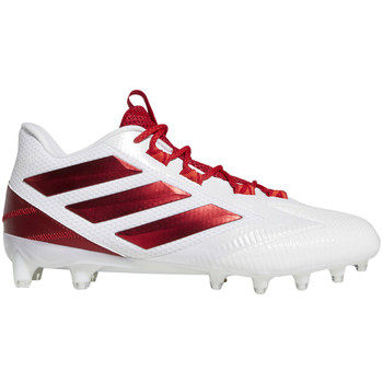 adidas Carbon Freak Low Cleats F97396 - Cloud White, Power Red, Active Red