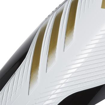 adidas X20 Match Soccer Shinguard & Sleeve Set FT6593 - White, Gold, Black