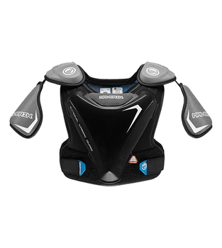 Maverik Charger EKG 2022 Youth Lacrosse Shoulder Pads - Black