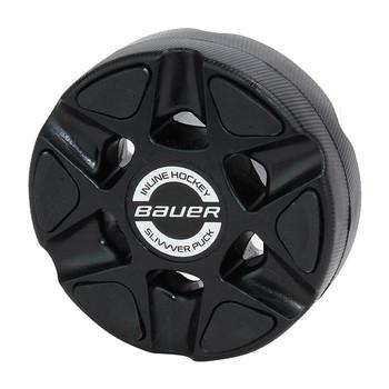 Bauer Slivvver Roller Hockey Inline Puck - Black