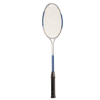 Champion Tempered Steel Twin Shaft Badminton Racket - Blue