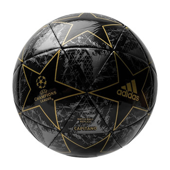 adidas UCL Finale Capitano Soccer Ball DY2554 - Black, Gold