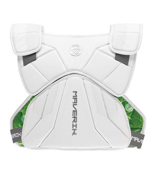 Maverik M5 EKG Speed Pad 2023 Lacrosse Shoulder Pads - White