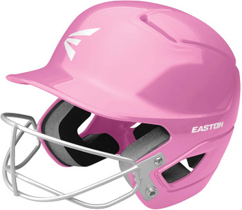 Easton Alpha Softball Batting Helmet with Mask - Pink