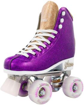 Crazy Skate Glam Roller Skates - Purple Glitter