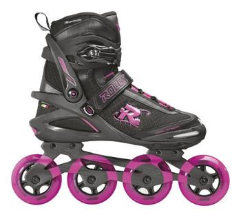 Roces Pic TIF Inline Skates - Black, Fuchsia