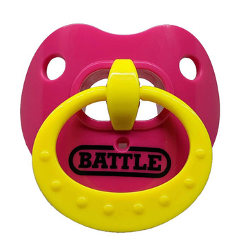 "Battle ""Binky"" Oxygen Football Mouthguard - Various Colors"