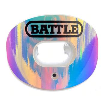 "Battle ""Iridescent"" Oxygen Convertible Strap Mouthguard"