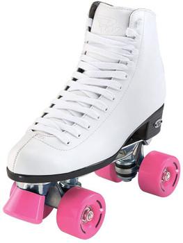 Riedell RW Wave Roller Quad Skates - White