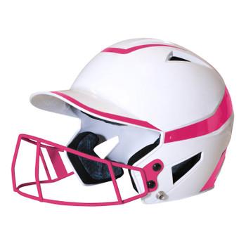 Champro HX Rise Pro Baseball Batting Helmet w/Facemask