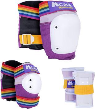Triple 8 Moxi Series 6 Pack (Wrist, Elbow, Knee) - Junior & Adult Sizes