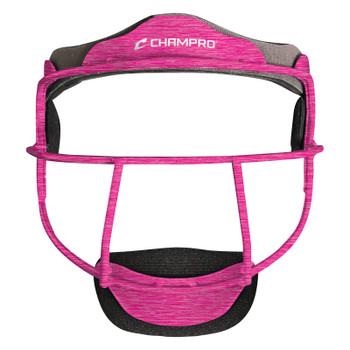 "Champro ""The Grill"" Softball Fielder's Mask - Optic Hot Pink Heather"