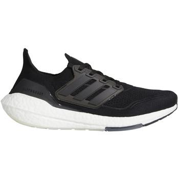 adidas UltraBoost 21 Mens Sneakers / Shoes FY0378 - Black/Black/Gray