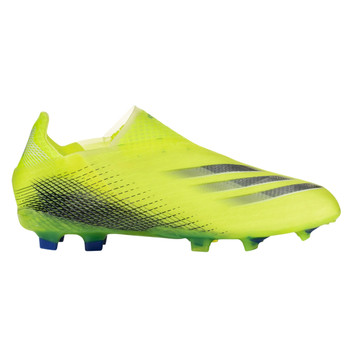 adidas X Ghosted.3 Firm Ground Junior Soccer Cleats FW6934 - Solar Yellow/Black