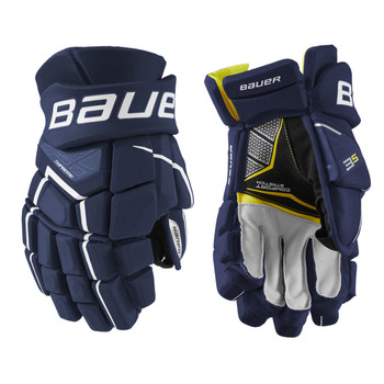 Bauer S21 3S Intermediate Hockey Gloves - Various Colors