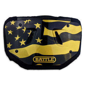 Battle USA 2.0 Graphic Football Backplate - Various Colors & Sizes