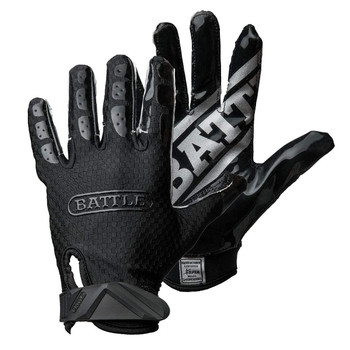 Battle Triple Threat Football Receiver Gloves- Adult & Youth