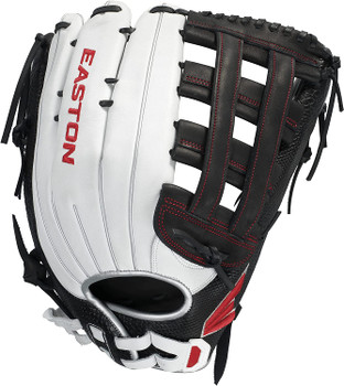 Easton 2022 Tournament Elite Slowpitch 15-Inch Softball Glove - Dual Bar H-Web