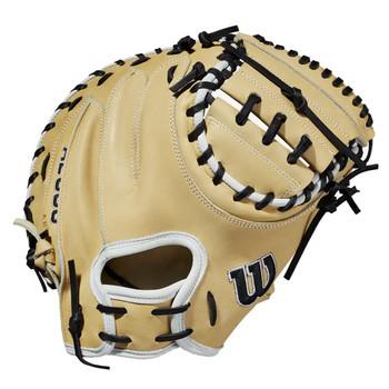 """Wilson 2021 A2000 CM33 33"""" Baseball Catcher's Mitt - Right Hand Throw"""
