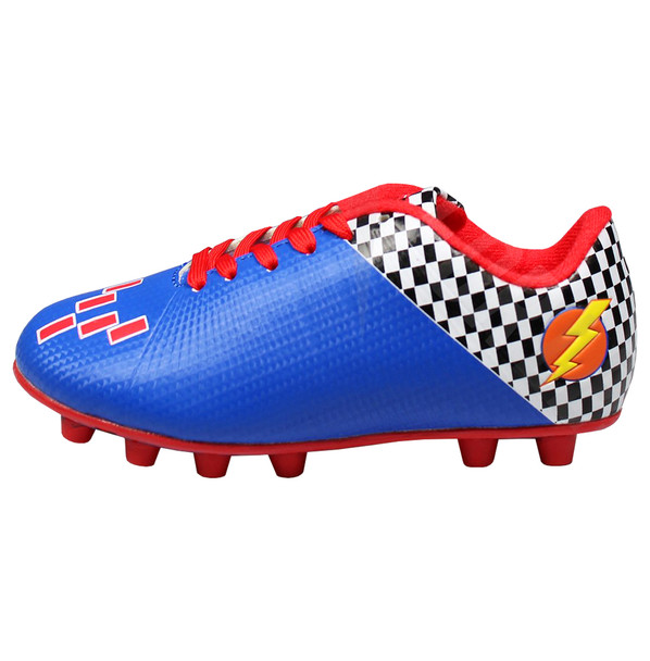 Vizari Prix Youth Soccer Cleats - Blue, Red