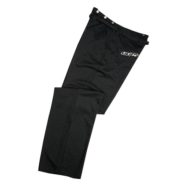 CCM ( PP9L ) Senior Referee and Official Pants - Black