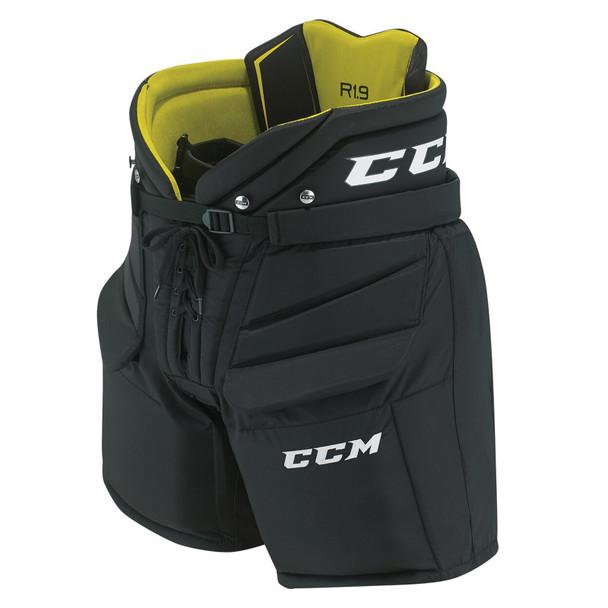 CCM Premier R1.9 Senior Hockey Goalie Protective Pants HPGR1.9 - Black