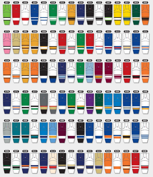 AK HS2100 Pro Hockey Socks - Team Colors