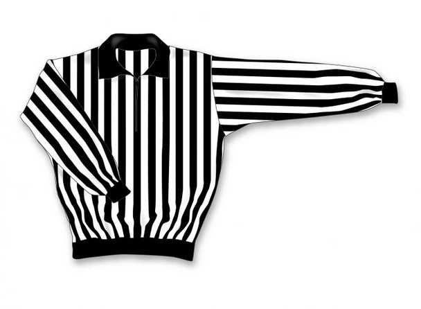 AK Referee Jersey Series RJ150 - Quarter Zip