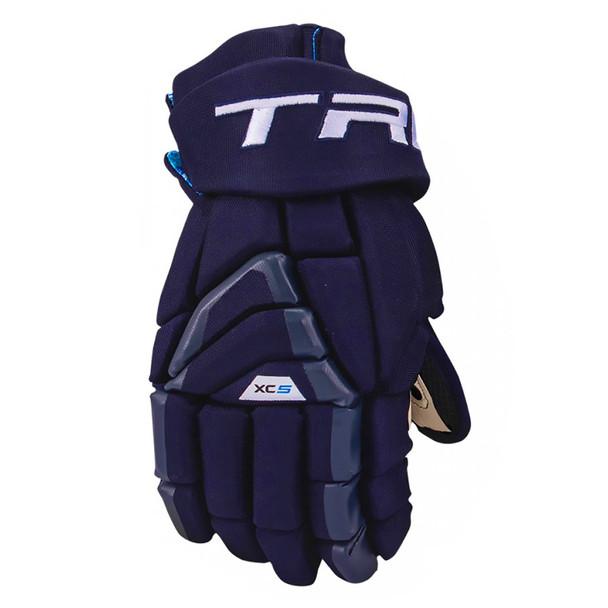 True XC5-18 Anatomical Fit Junior Hockey Gloves - Navy