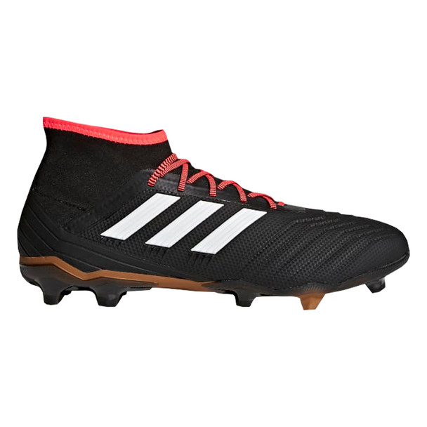 Adidas Predator 18.2 FG Men's Soccer Cleats CP9290 - Black, White, Red
