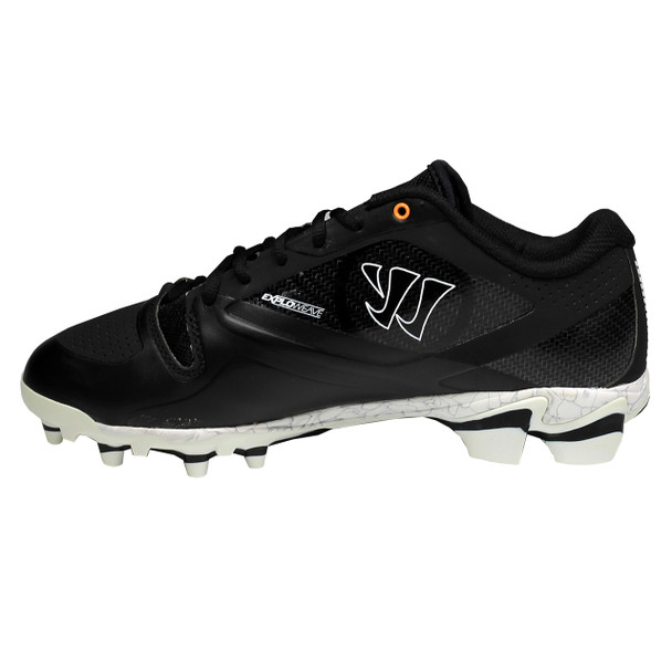 Warrior Gospel Senior Lacrosse Cleats - Black