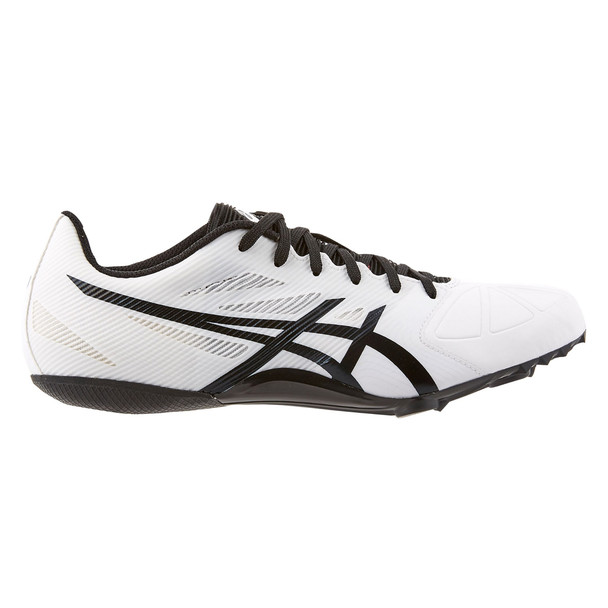Asics HyperSprint 6 Men's Track and Field Shoes - White, Black, Snow