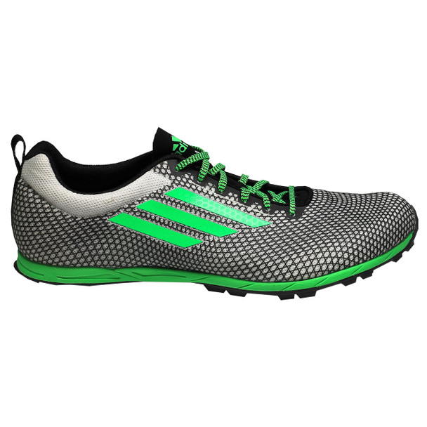 Adidas XCS 6 Men's Track Shoes B23479 - Black, Green, White