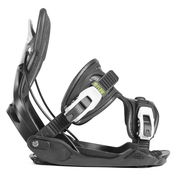 Flow Alpha Men's Snowboard Bindings - Charcoal