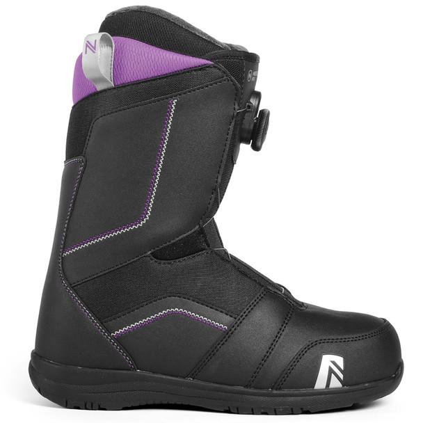 Nidecker Maya Boa Women's Snowboard Boots - Black, Purple