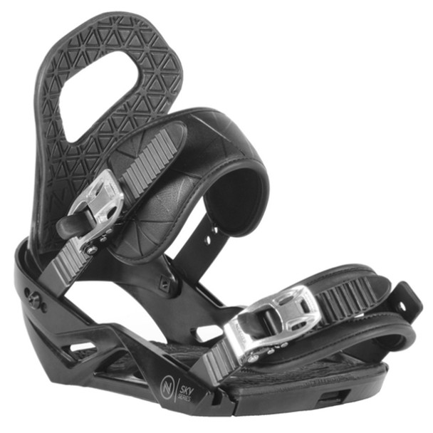 Nidecker Sky Men's Snowboard Bindings - Black