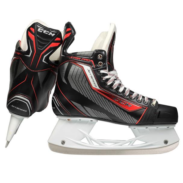 CCM Jetspeed Xtra Pro Junior Ice Hockey Skates - Black