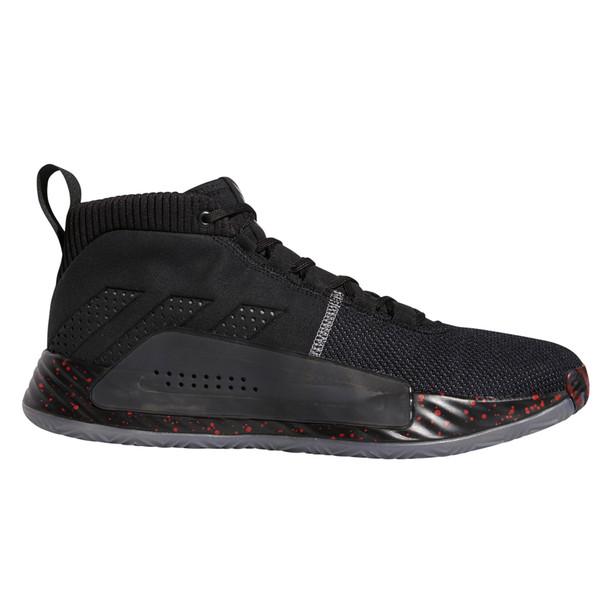 Adidas Dame 5 Men's Basketball Sneakers BB9316 - Black, Gray, Red