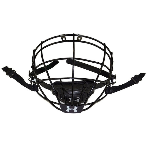 Under Armour V96 Box Lacrosse Senior Face Mask - Black