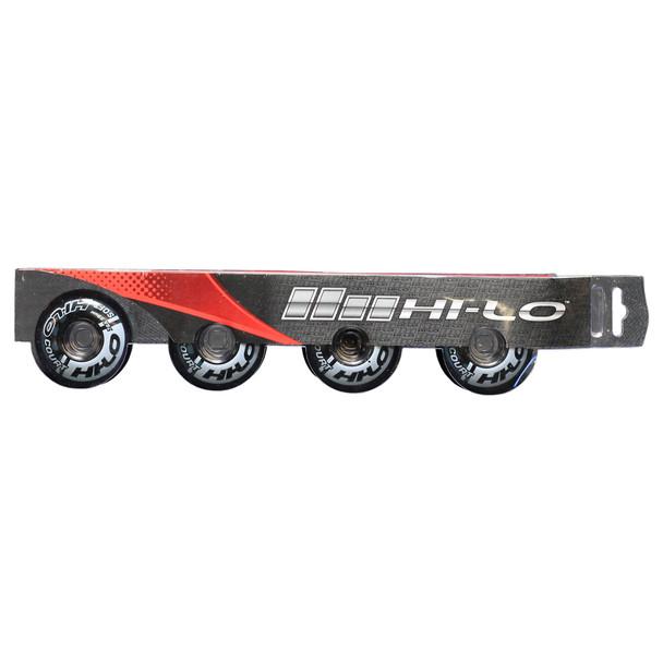 Bauer HI-LO Court Inline / Roller Hockey Wheels - 4 Pack