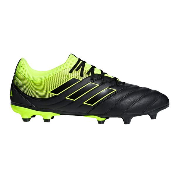 Adidas Copa 19.3 FG Men's Soccer Cleats BB8090 - Black, Yellow