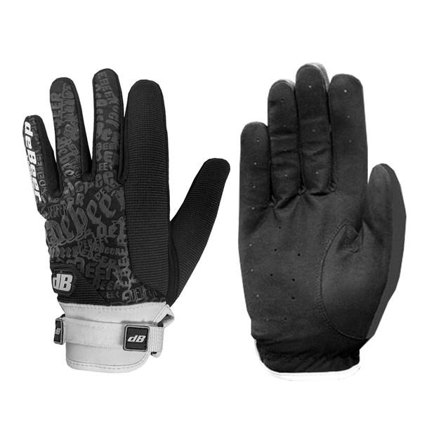 Debeer Fierce Women's Lacrosse / Field Hockey Gloves - Black