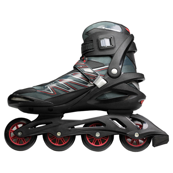 Roces Big ZYX Men's Inline Hockey Skates - Black, Red