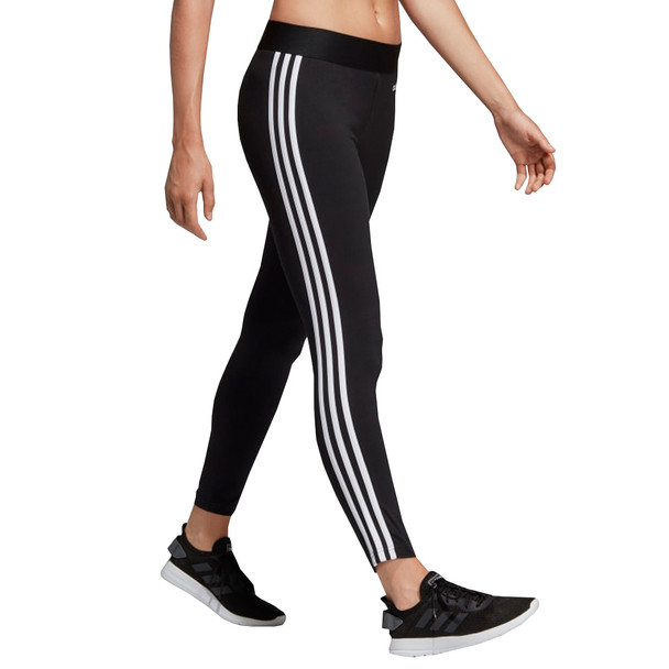 Adidas Essential 3-Stripe Women's Tights DP2389 - Black, White