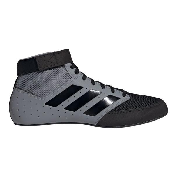 Adidas Mat Hog 2.0 Adult Wrestling Shoes F99823 - Gray, Black